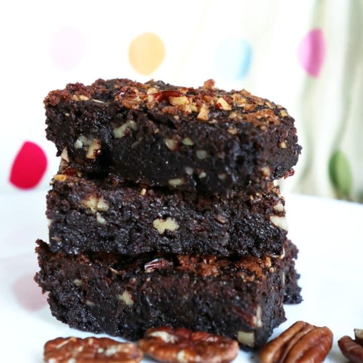 Pecan Nut Fudge Brownies