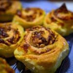 Goat Cheese Pesto Swirls