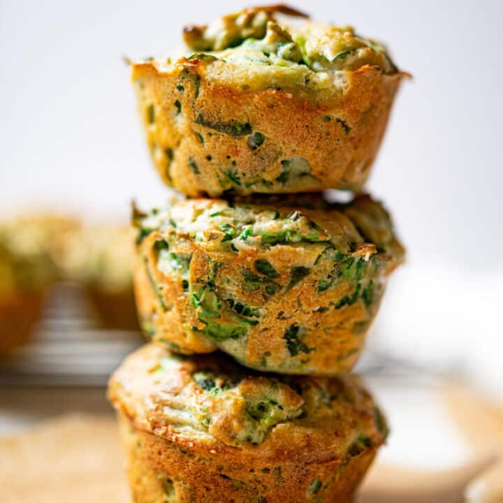 Spinach, Sundried Tomatoes and Feta Muffins