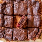 Best Raspberry Brownies