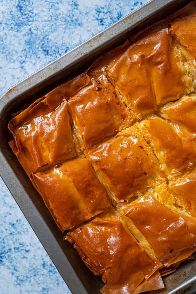 Galaktoboureko (Greek Custard Pie)1