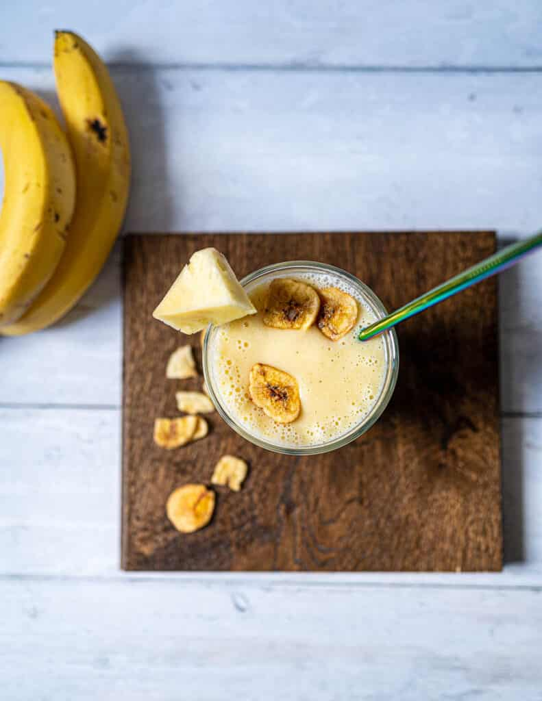 Vegan Pineapple Smoothie