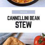 Vegan Cannellini Bean Stew