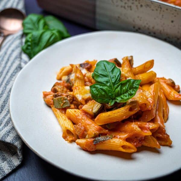 a photo of pasta