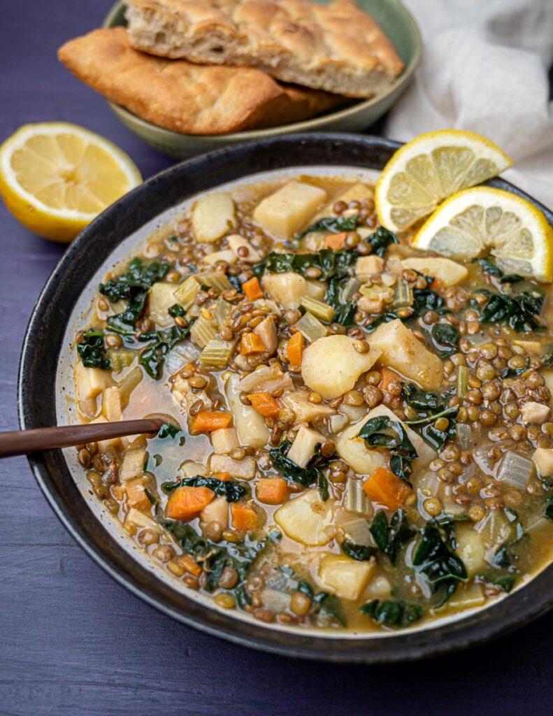 Photo of Lebanese lentil soup recipe