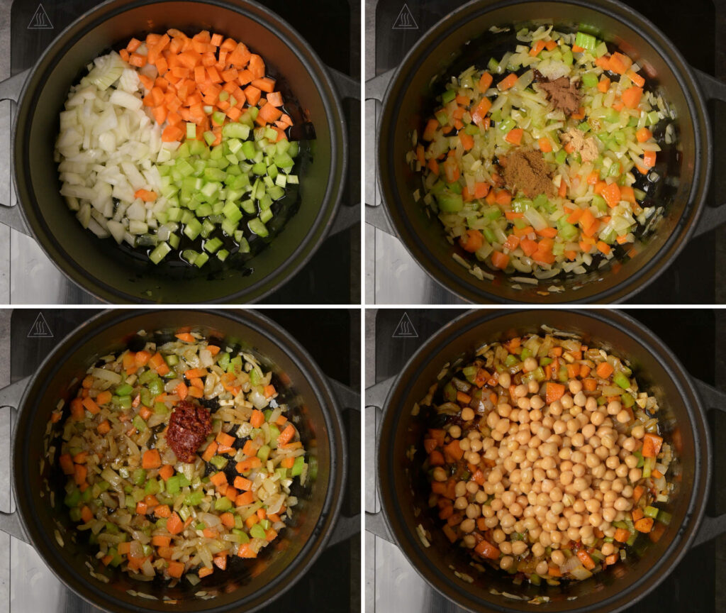moroccan soup cooking steps