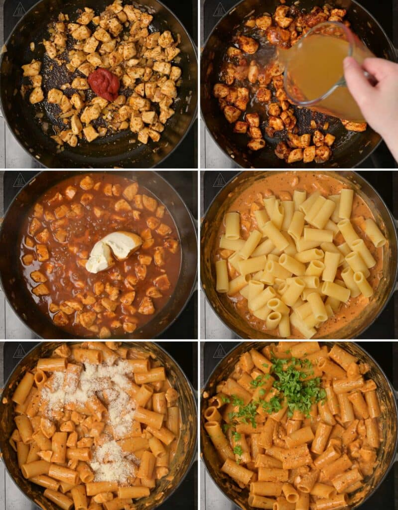 pasta making step by step instructions