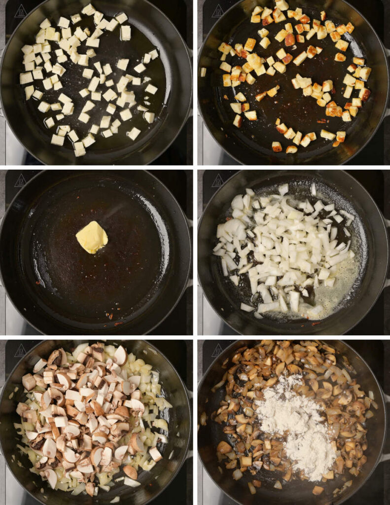 pasta cooking steps