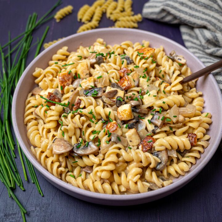 a plate of an Italian dish