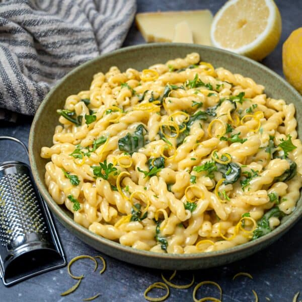 photo of an Italian recipe