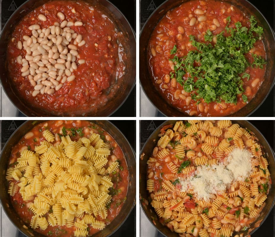 pasta cooking step by step instructions