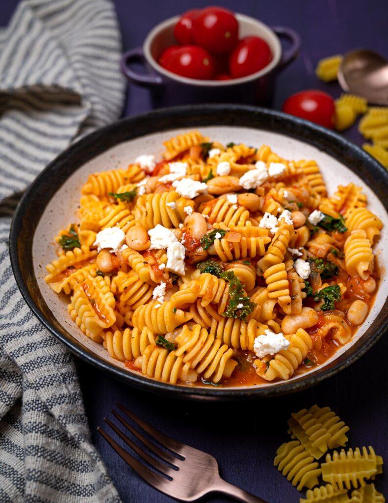 image of radiatori pasta