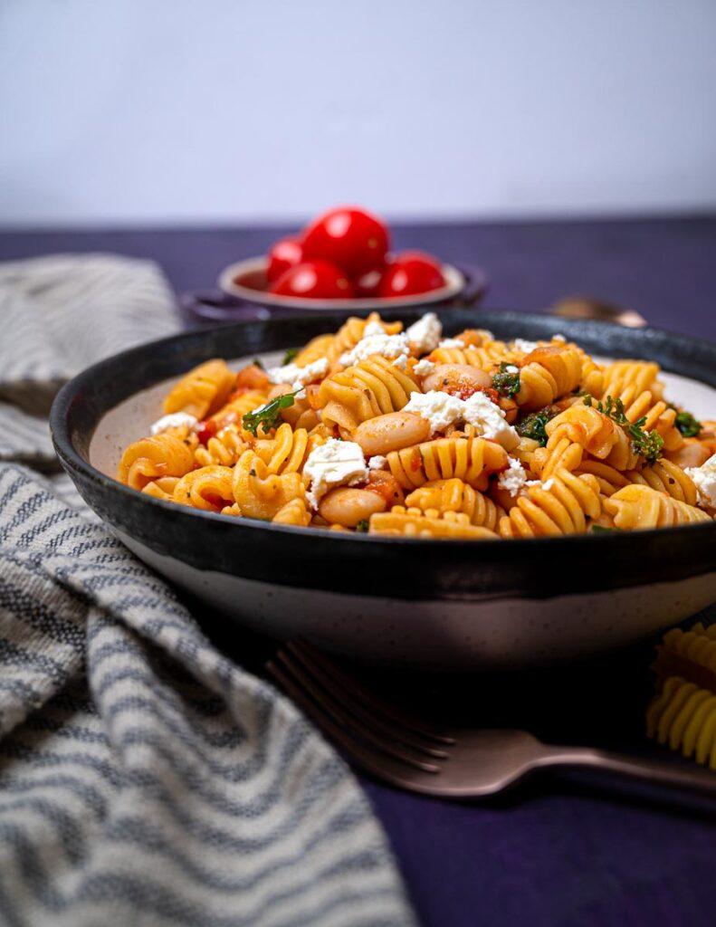 photo of radiatori pasta