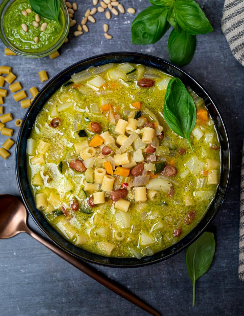 image of an Italian summer minestrone