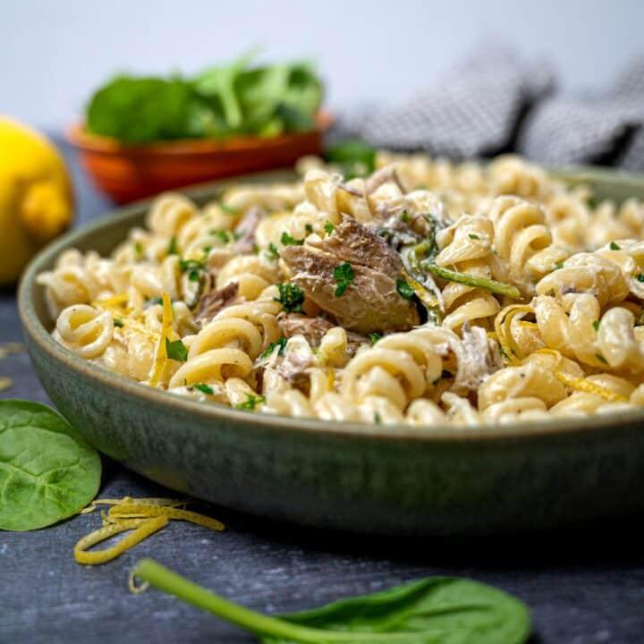 close up photo of a Mediterranean dish